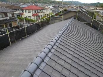 2階屋根は雨漏り対策にもなり、耐震性もアップしました!